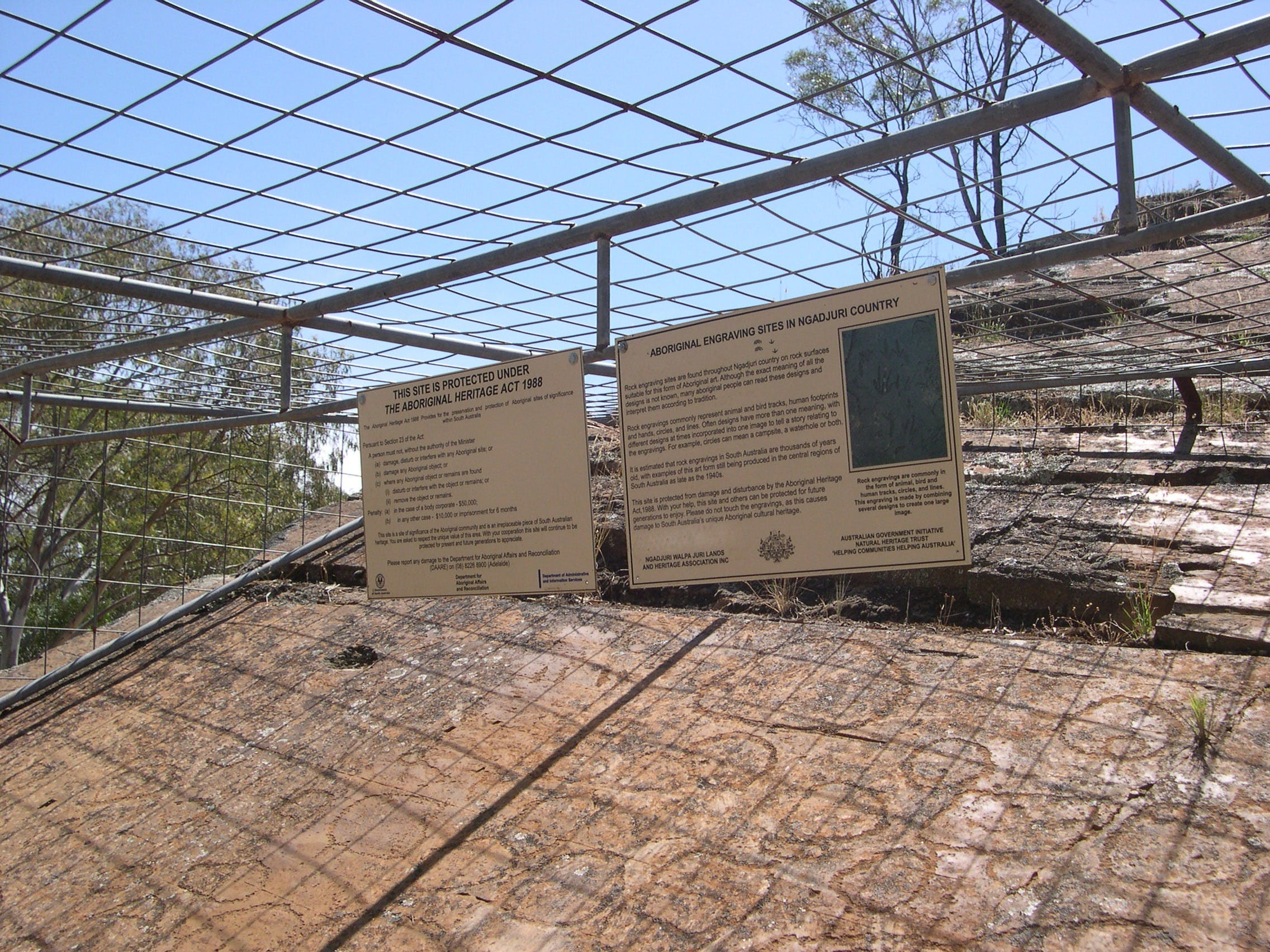 Aboriginal Carvings - Carnarvon Accommodation