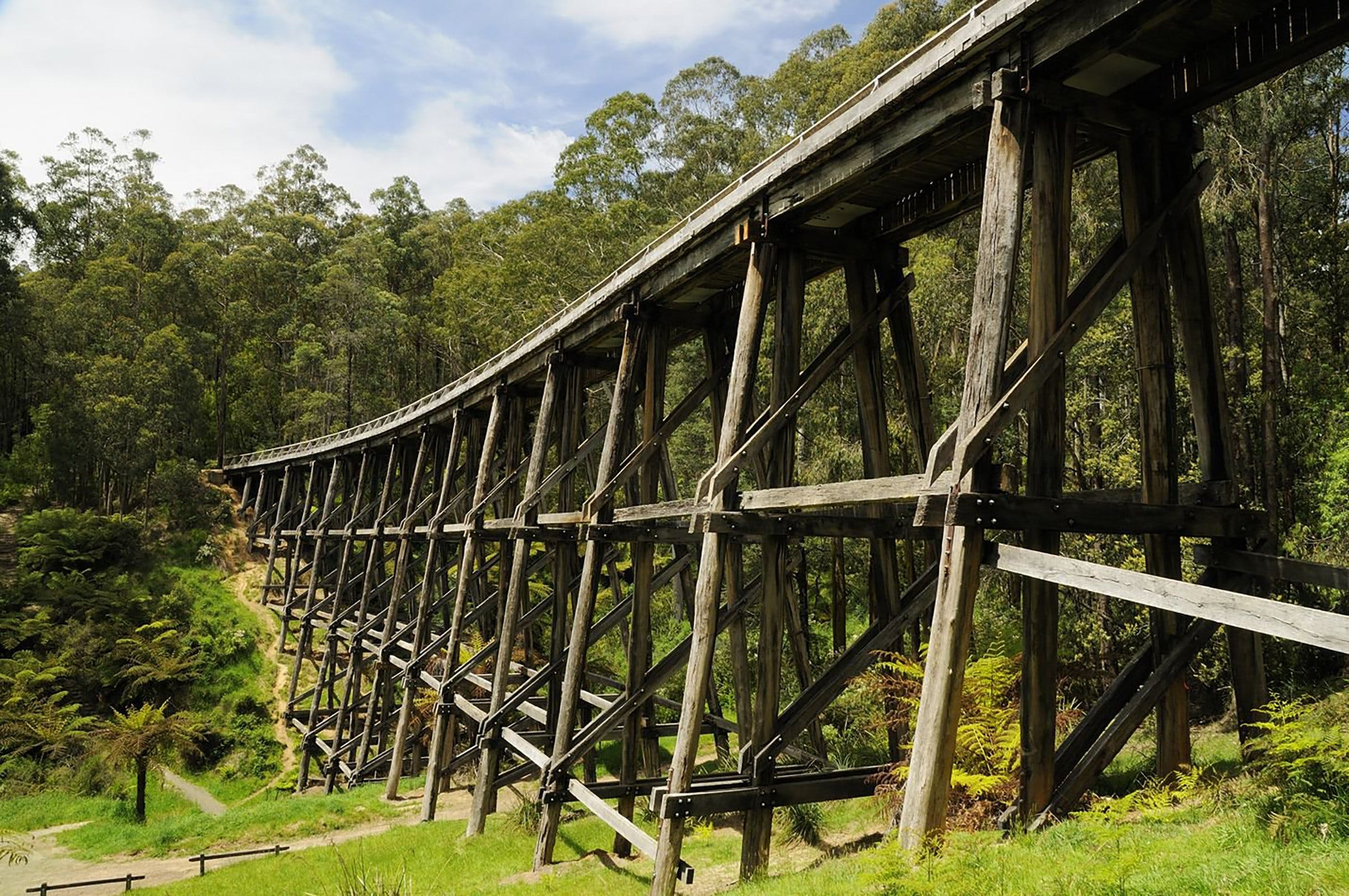 Noojee Trestle Bridge - Carnarvon Accommodation