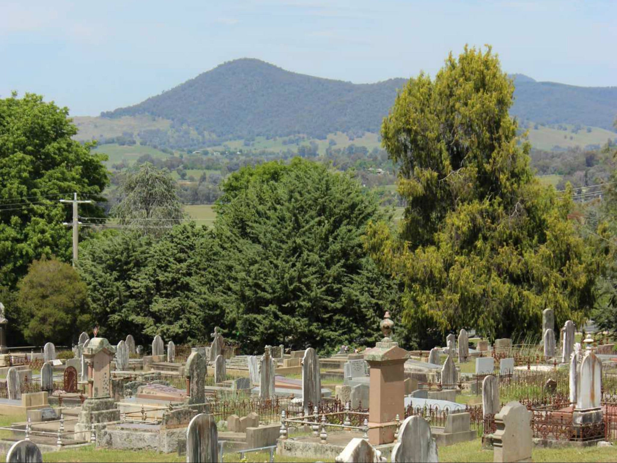 Yackandandah Cemetery - Carnarvon Accommodation