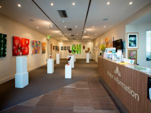 Australian National Botanic Gardens Visitor Centre Gallery - Carnarvon Accommodation