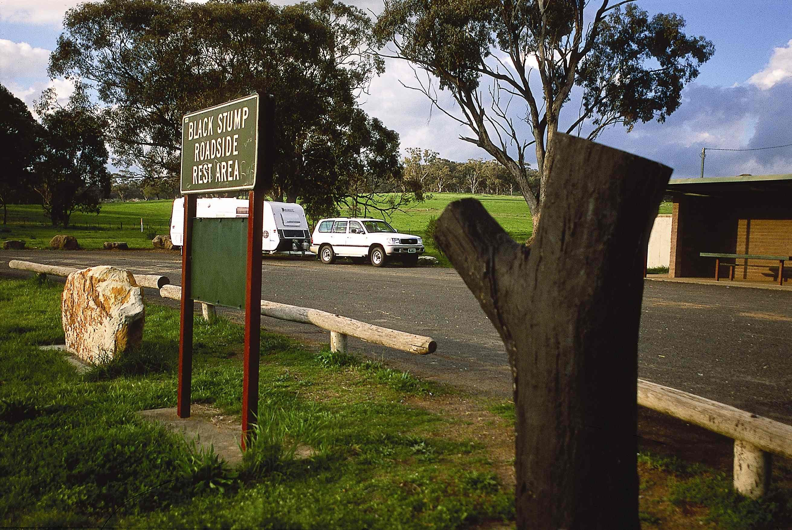 Black Stump Rest Area - Carnarvon Accommodation