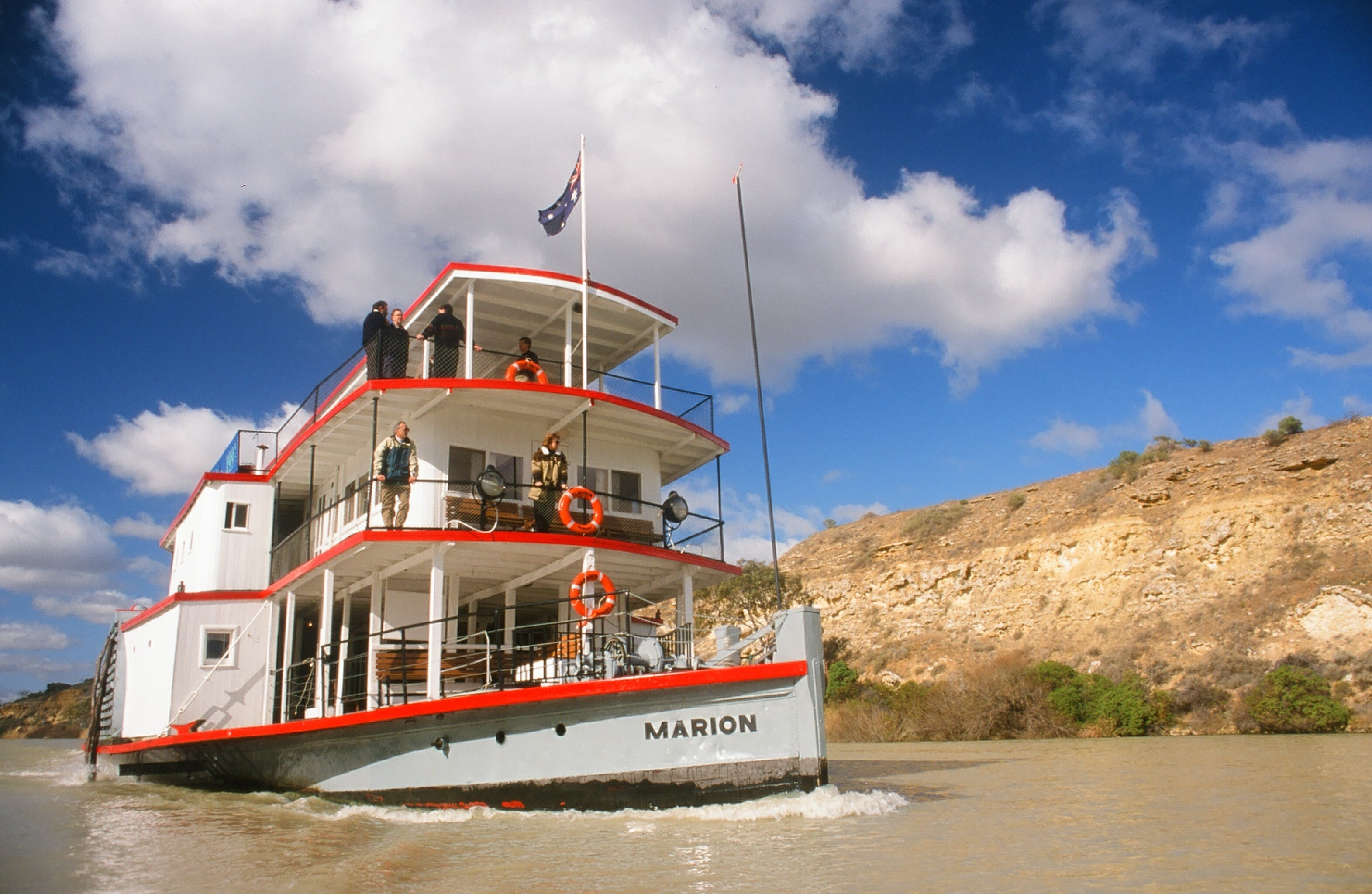 PS Marion Short Cruises - all cruises cancelled until further notice - Carnarvon Accommodation