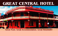 Great Central Hotel - Carnarvon Accommodation