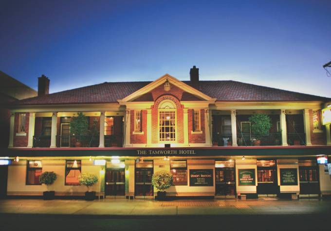Tamworth Hotel - Carnarvon Accommodation