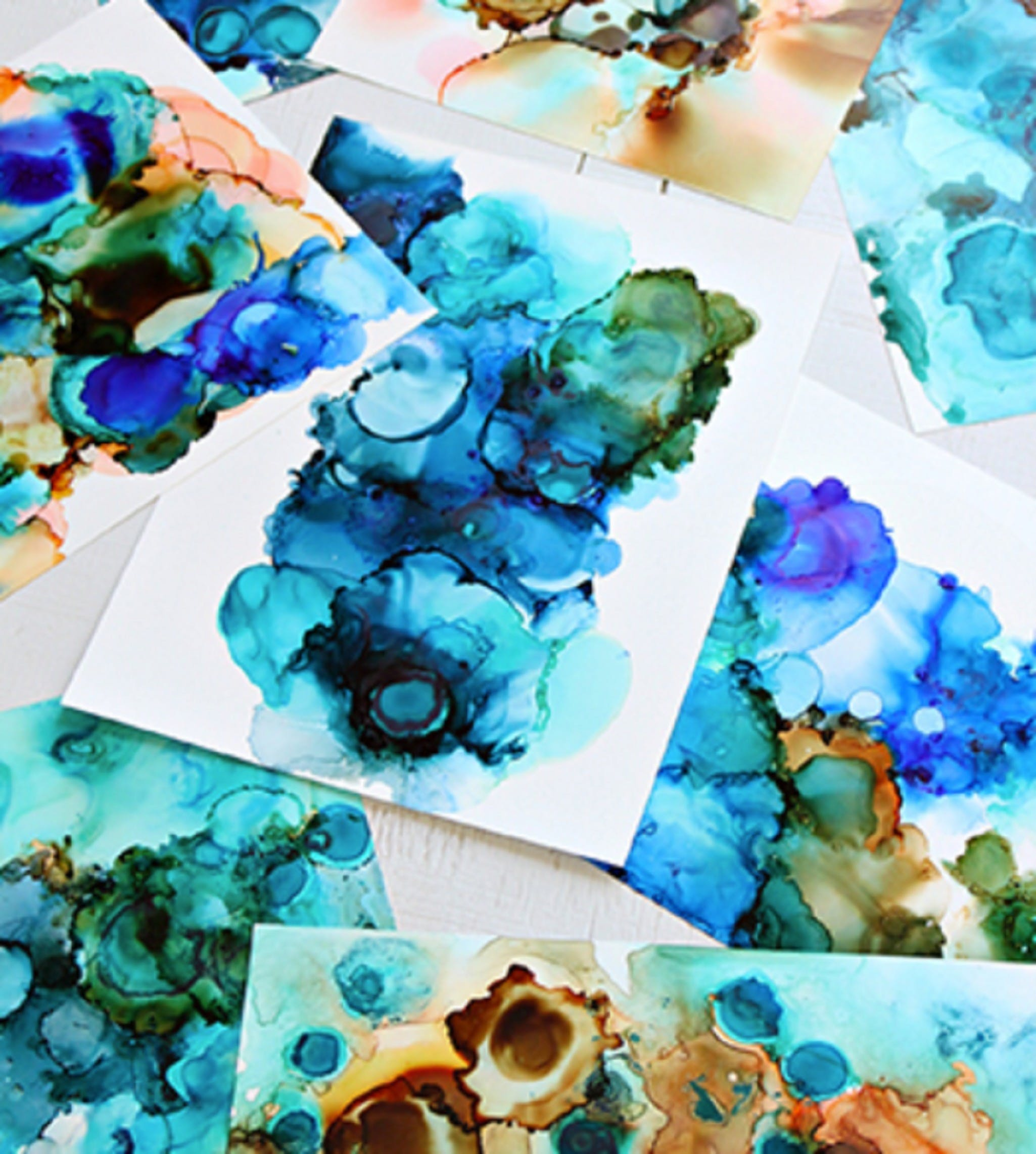 Alcohol Ink Art Class - Carnarvon Accommodation