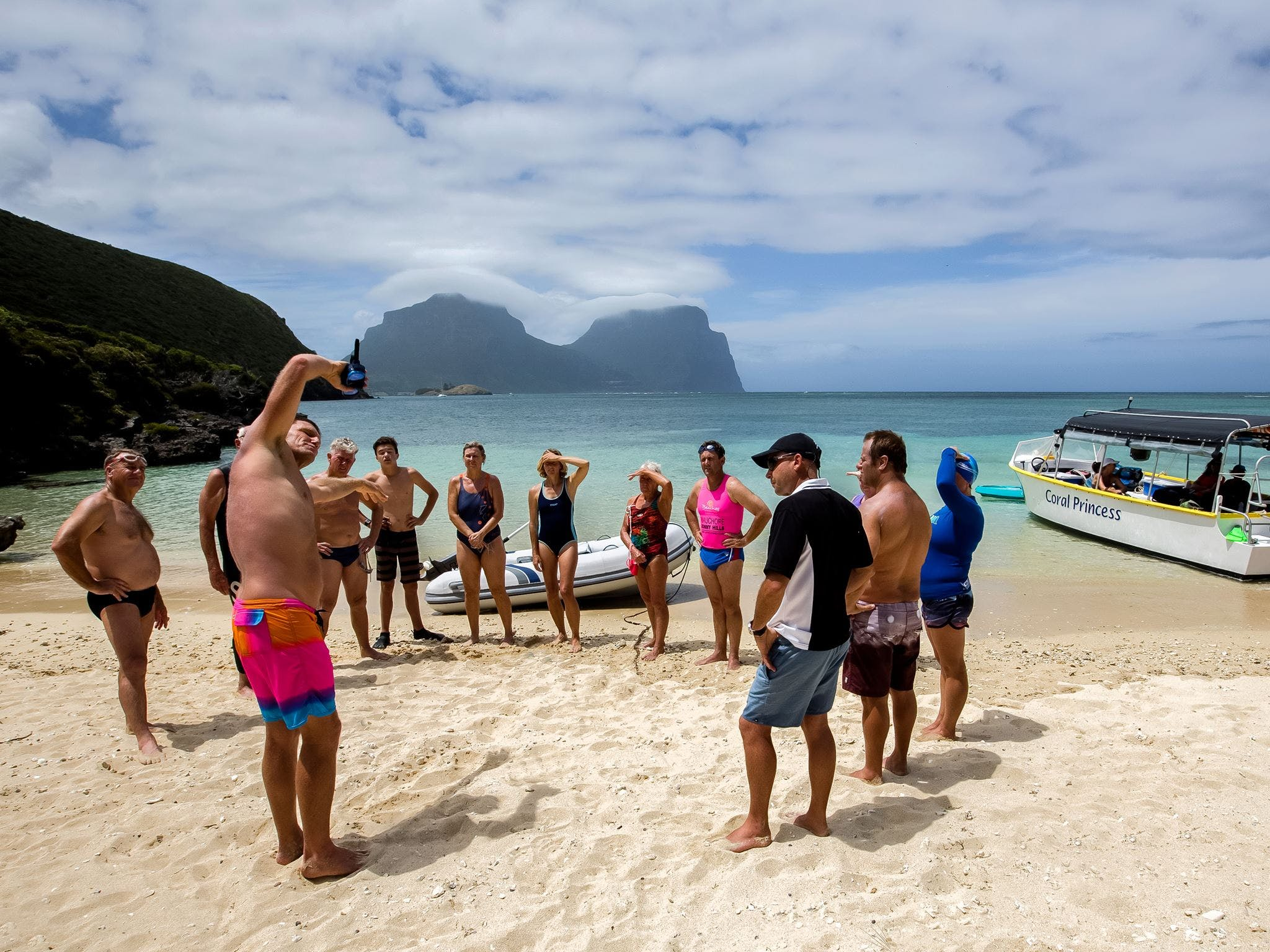 Ocean Swim Week with Trevor Hendy Pinetrees Lord Howe Island - Carnarvon Accommodation