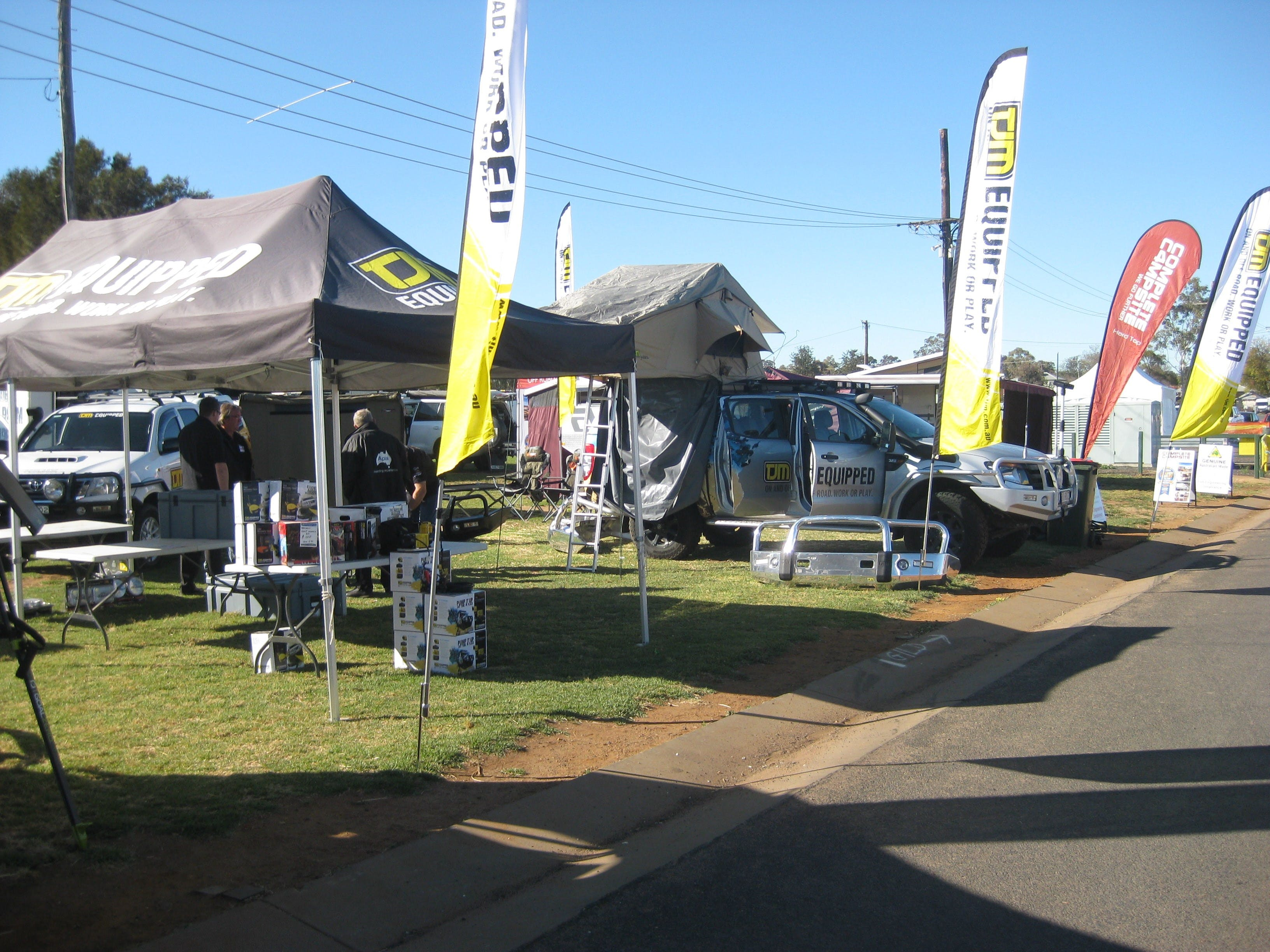Orana Caravan Camping 4WD Fish and Boat Show - Carnarvon Accommodation