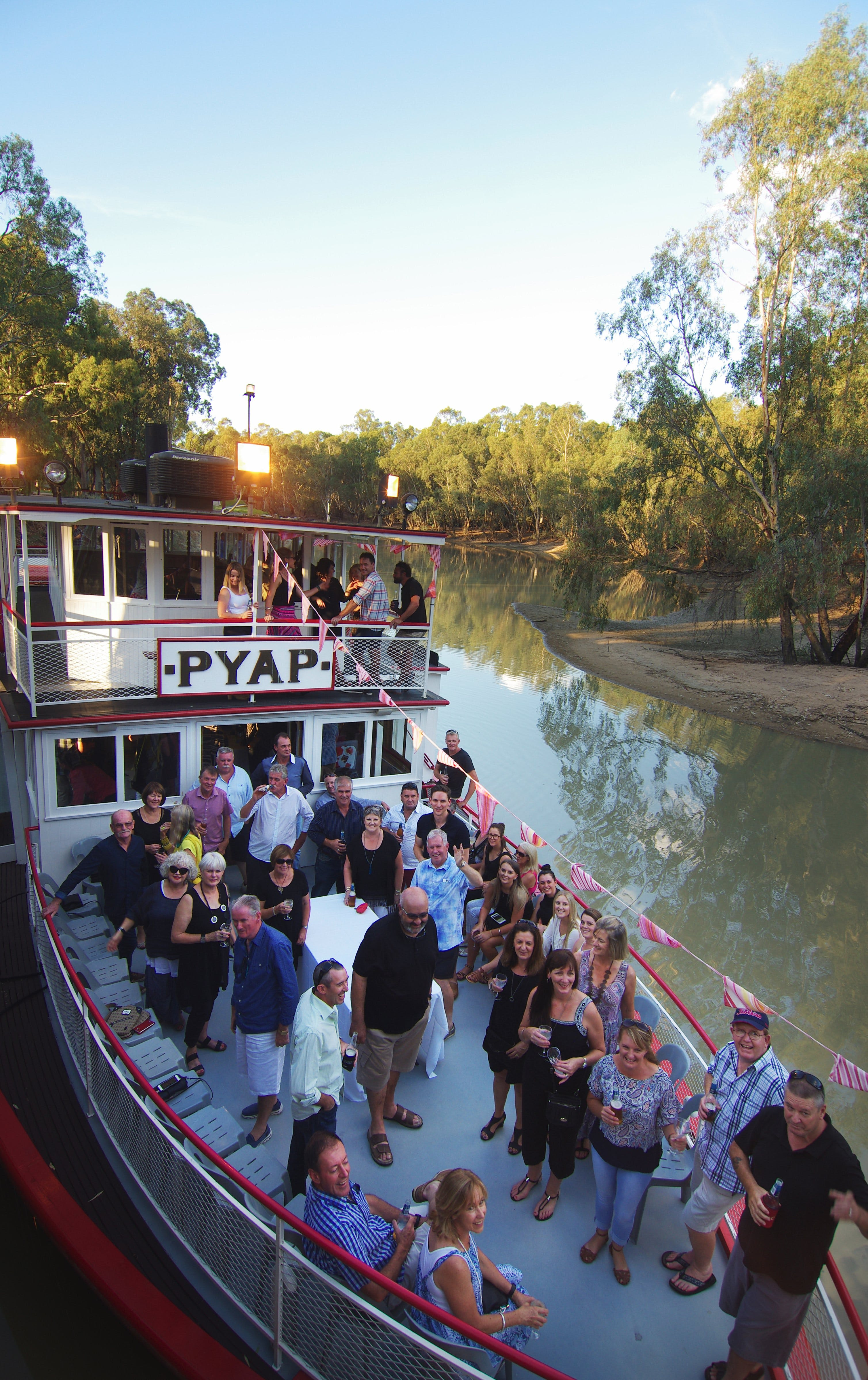 Swan Hill Region Food and Wine Festival Cruise - Carnarvon Accommodation