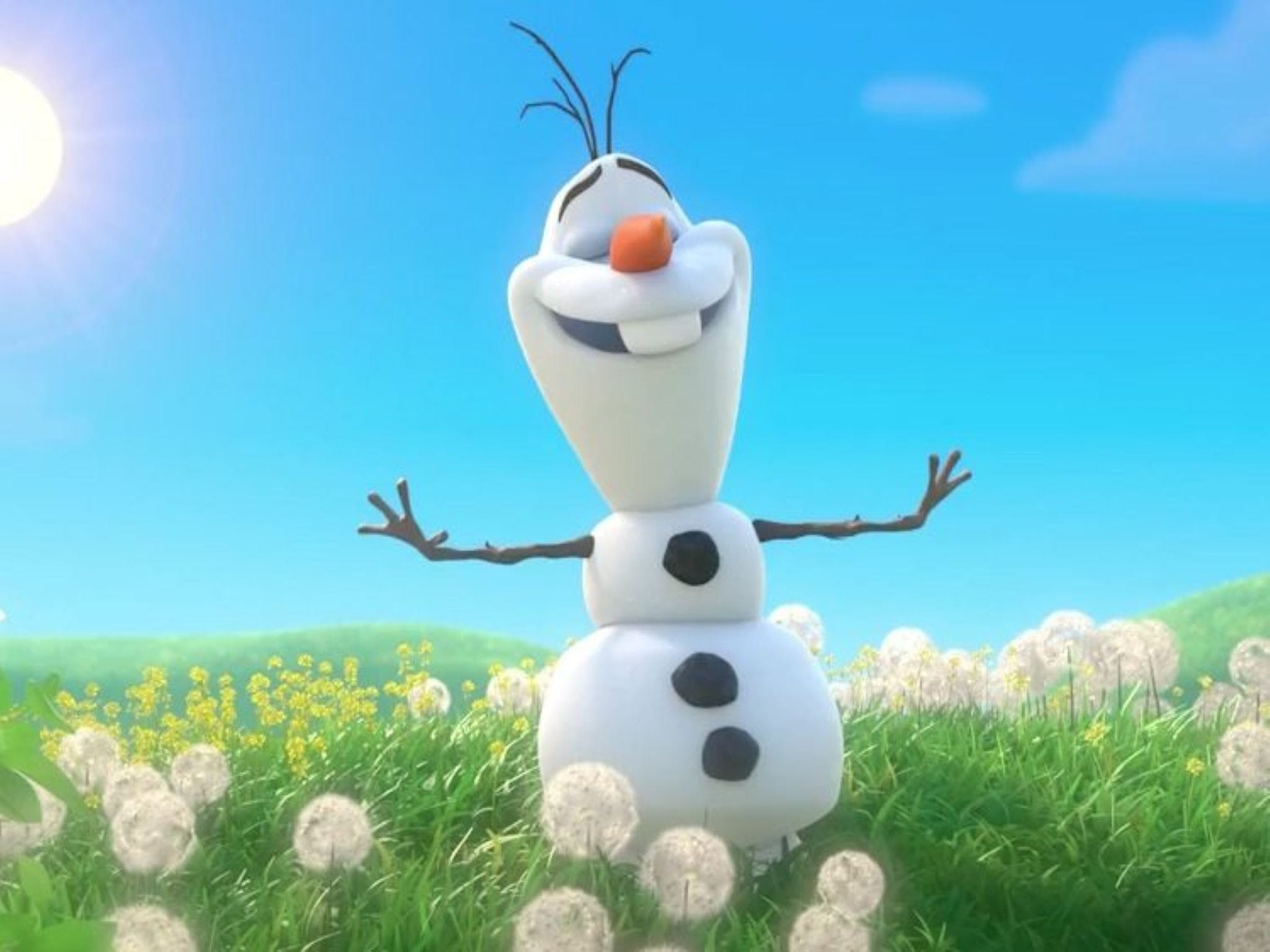 Meet Olaf from Frozen - Carnarvon Accommodation