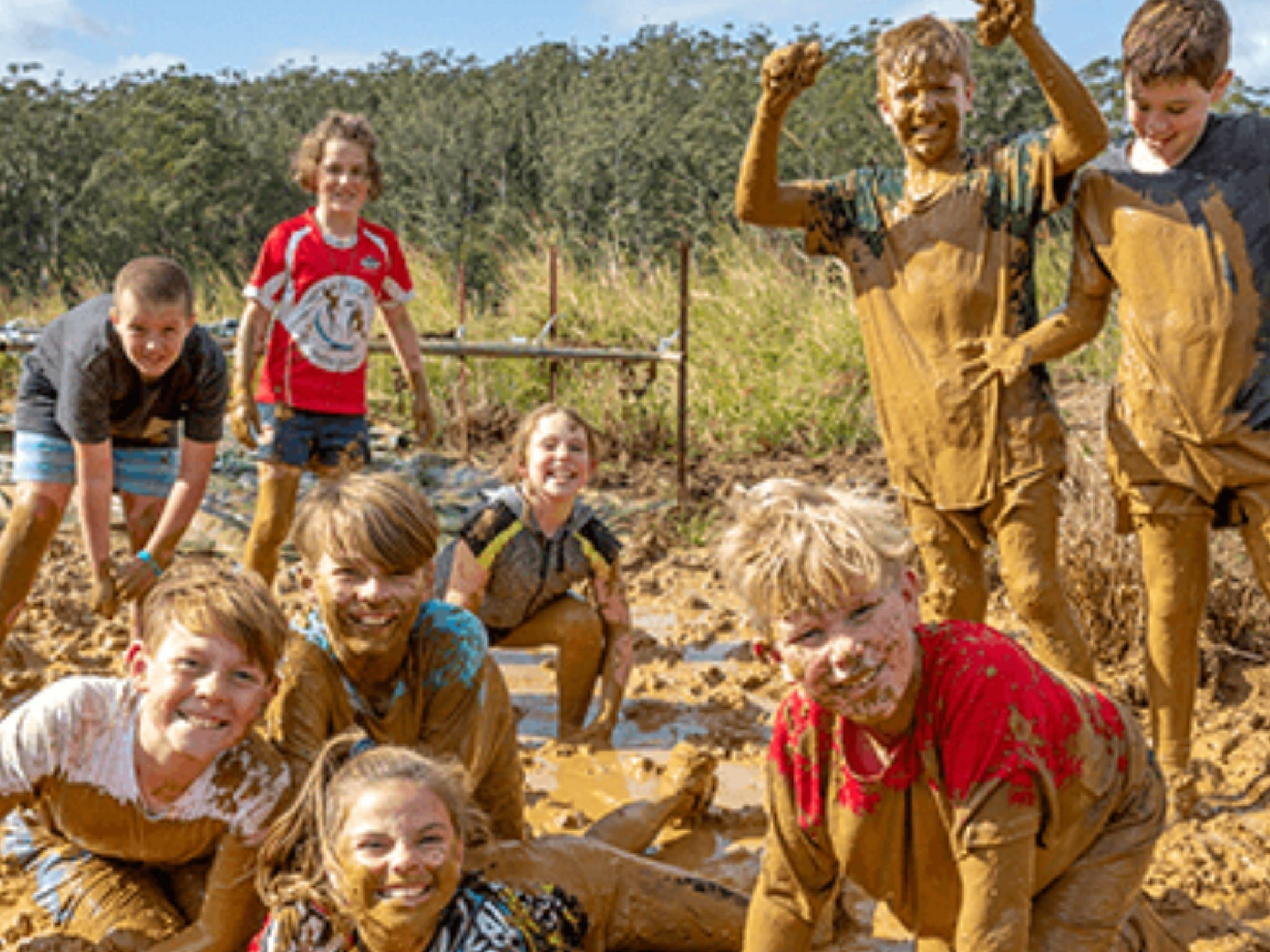 Mini Muddies Obstacle Challenge at Bunnamagoo Estate - Carnarvon Accommodation