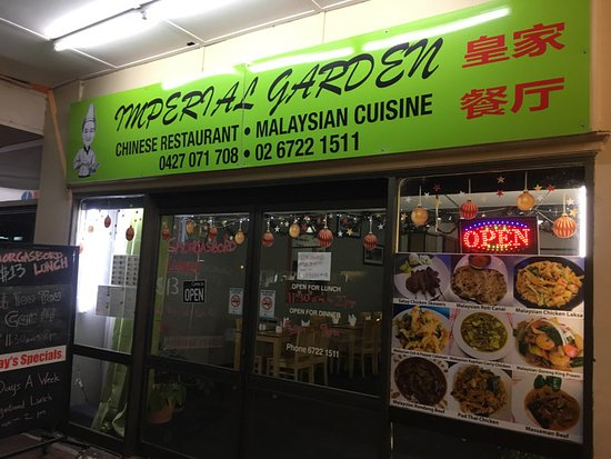 Imperial Garden Chinese Malaysian Cuisine - Carnarvon Accommodation