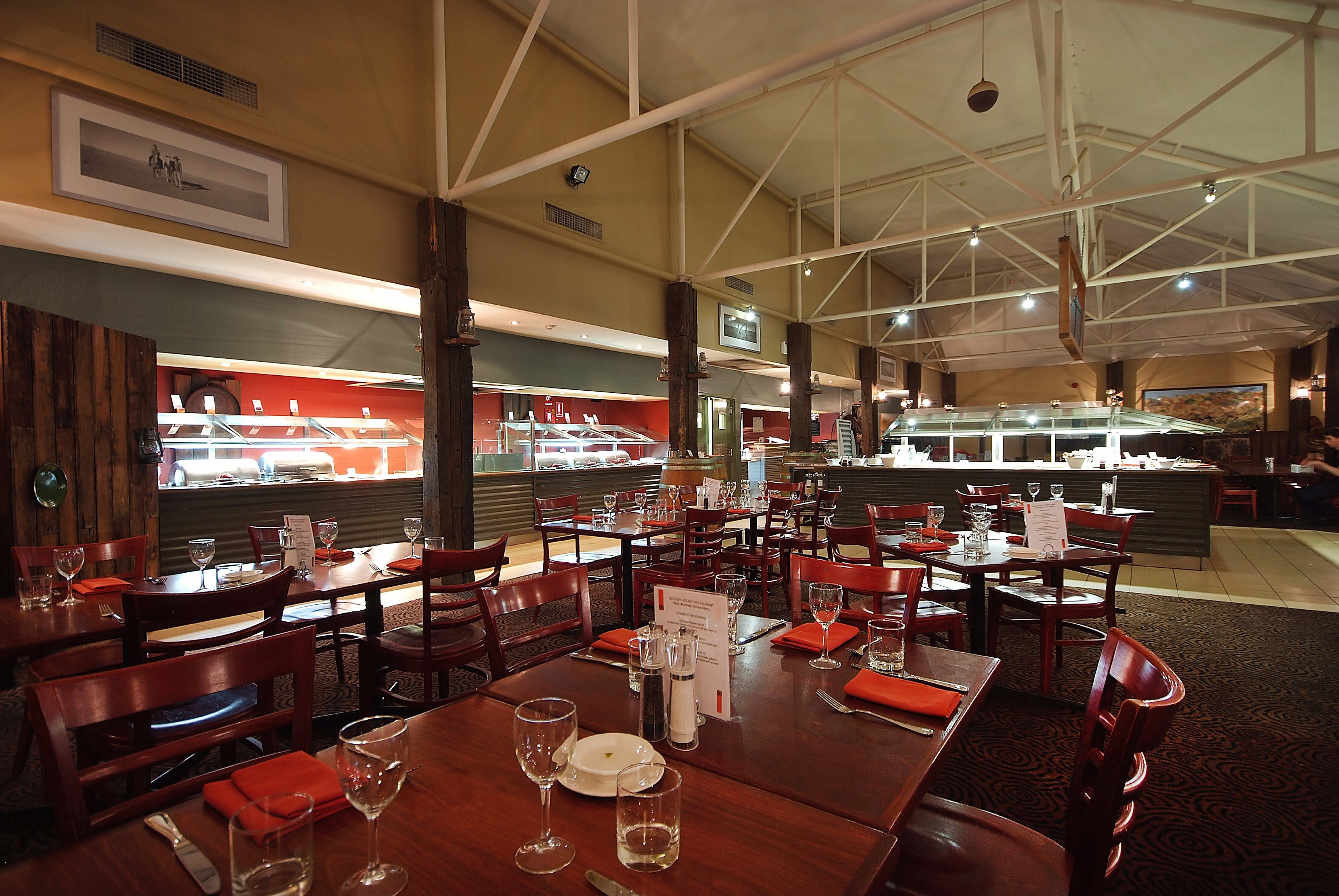 The Bough House Restaurant - Carnarvon Accommodation