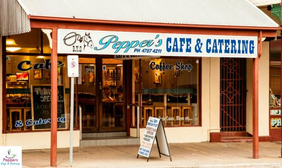 Peppers Cafe  Catering - Carnarvon Accommodation