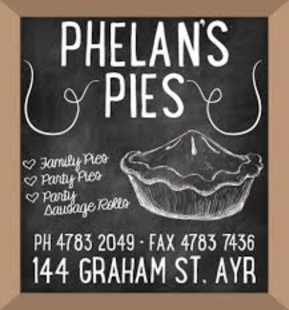 Phelan's Pies - Carnarvon Accommodation