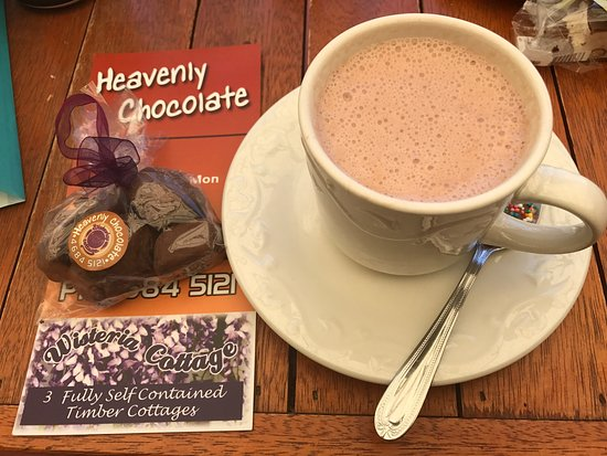Stanthorpe's Heavenly Chocolate at Wisteria Cottage - Carnarvon Accommodation