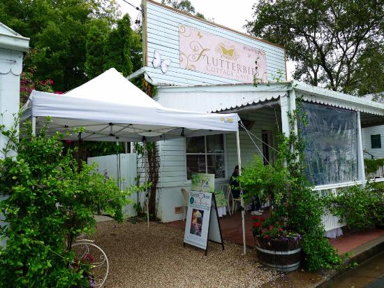 Flutterbies Cottage Cafe - Carnarvon Accommodation