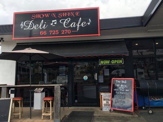 Show  Shine Deli Cafe - Carnarvon Accommodation