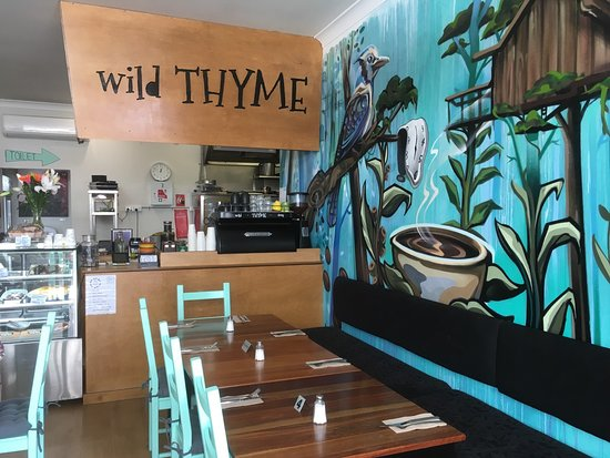 Wild THYME Dining - Carnarvon Accommodation
